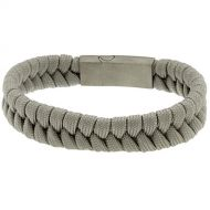Heren koord armband model Grey Rope
