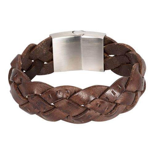 Leren heren armband model Jimmy