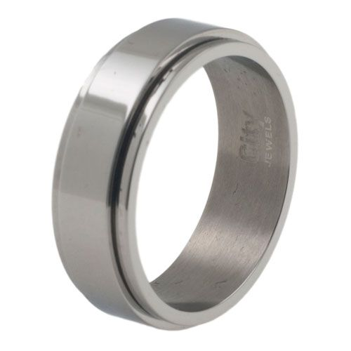 City Jewels spinner ring